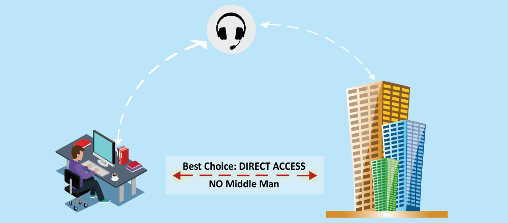 Carrier Access through Networks – Direct Access