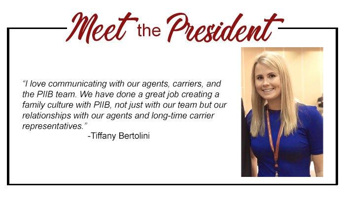 Meet PIIB's President..